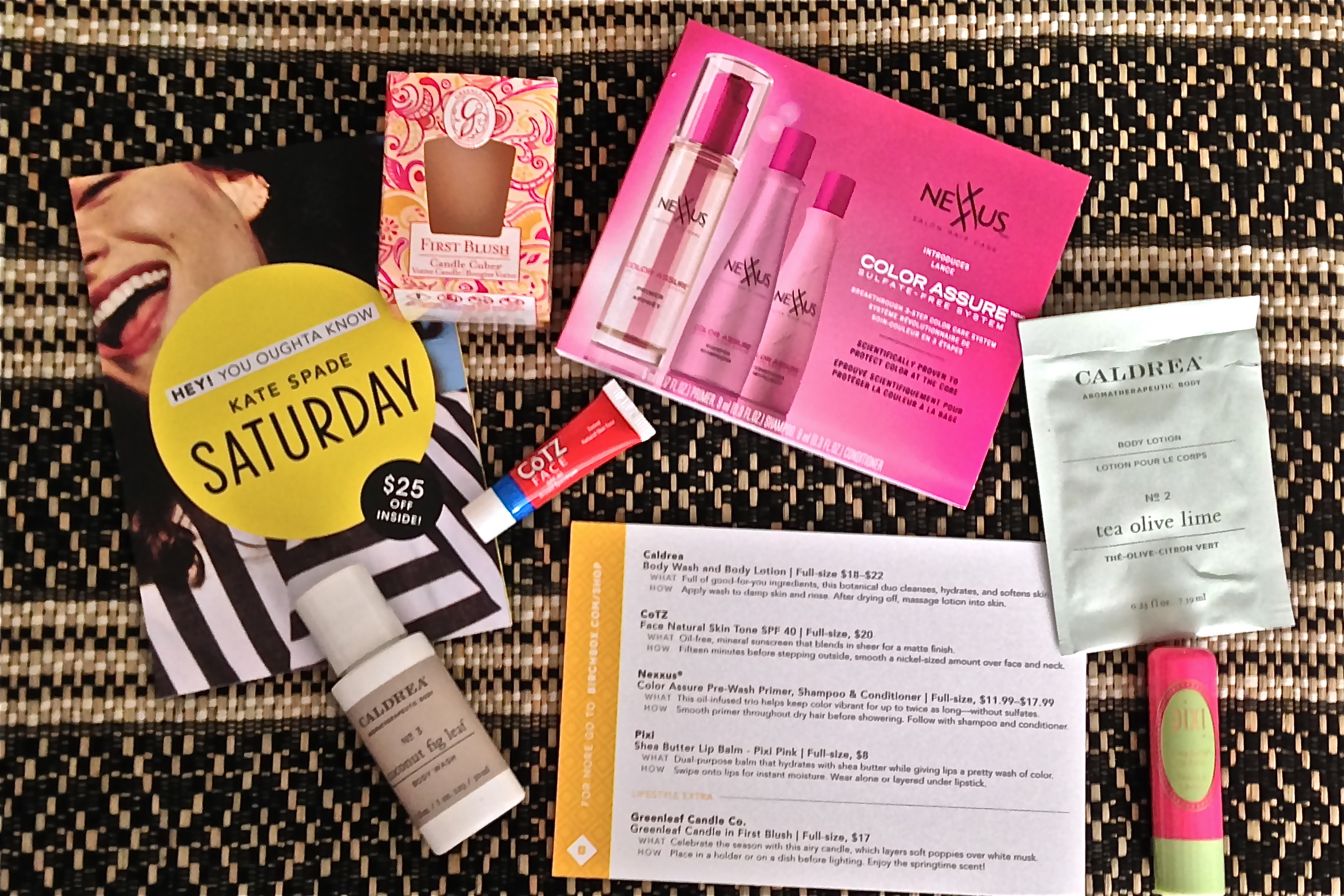 May Birchbox- Unboxed! glamourita.com
