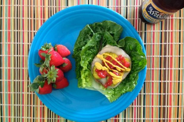 turkey burger lettuce wraps glamourita.com